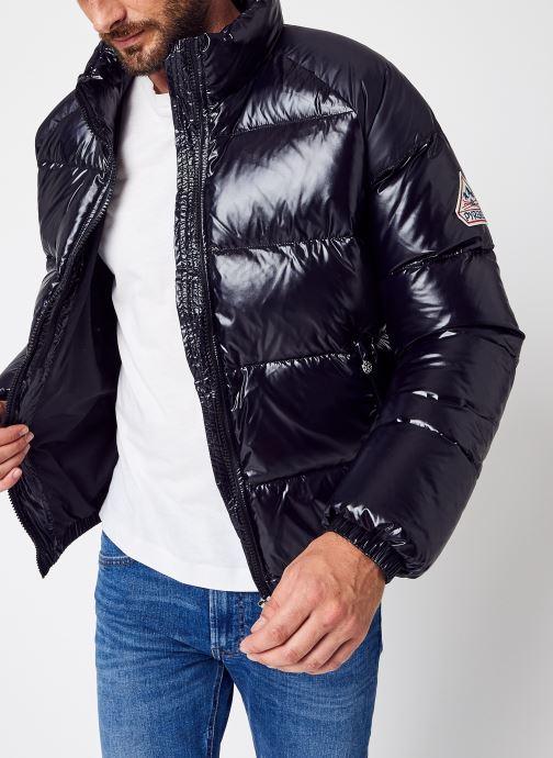 Vêtements Pyrenex Mythic Shiny Noir vue détail/paire