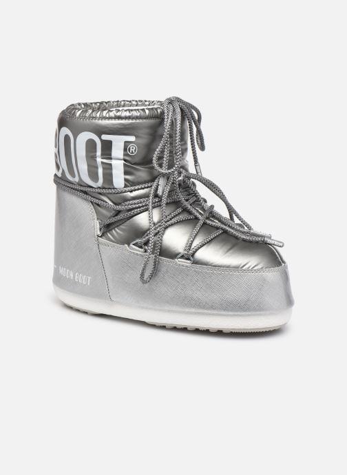 Chaussures de sport Moon Boot Classic Low Pillow Argent vue détail/paire