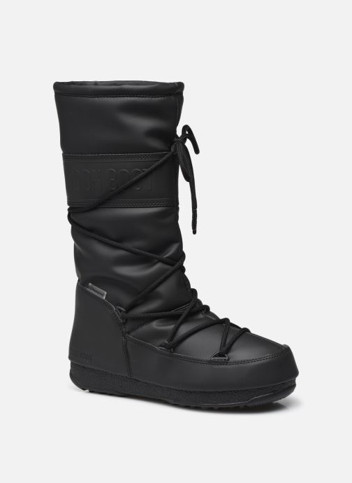 Chaussures de sport Moon Boot Moon Boot High Rubber WP Noir vue détail/paire