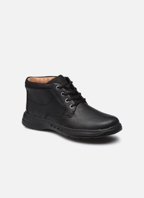 Stiefeletten & Boots Clarks Unstructured Un Brawley Up schwarz detaillierte ansicht/modell