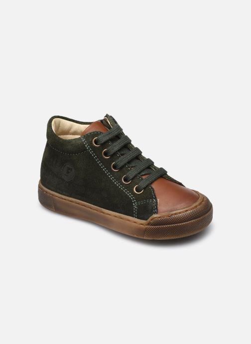 Bottines et boots Naturino Falcotto Snopes Zip Vert vue détail/paire