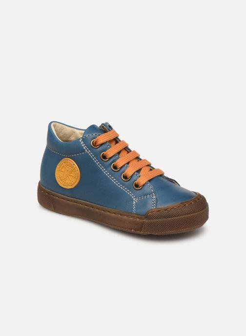 Bottines et boots Naturino Falcotto Alstro Zip Bleu vue détail/paire