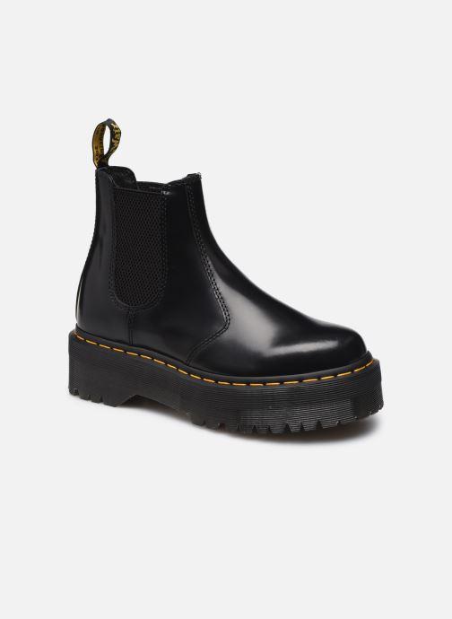 Stiefeletten & Boots Dr. Martens 2976 QUAD BLACK POLISHED SMOOTH W schwarz detaillierte ansicht/modell