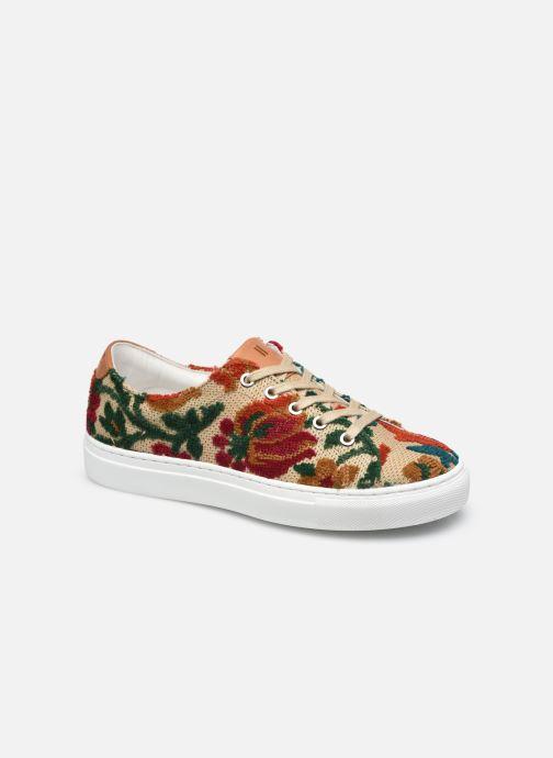 Sneakers Dames Fleur crochet lacet