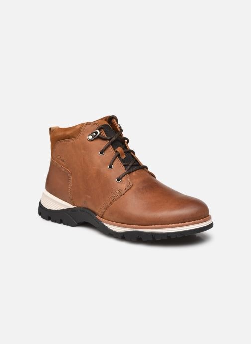 Stiefeletten & Boots Clarks Topton Mid braun detaillierte ansicht/modell