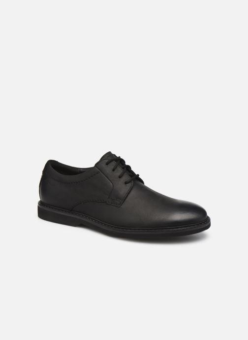Chaussures à lacets Clarks Atticus LTLace Noir vue détail/paire