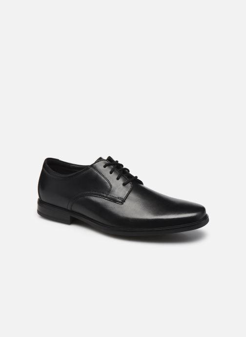 Chaussures à lacets Clarks Howard Walk Noir vue détail/paire