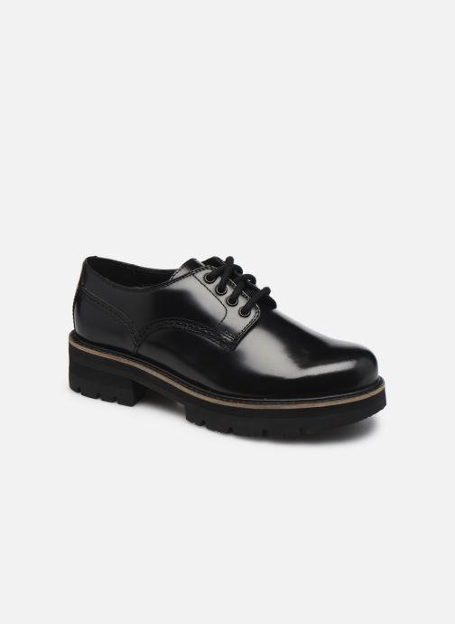 Zapatos con cordones Clarks Orianna Derby Negro vista de detalle / par