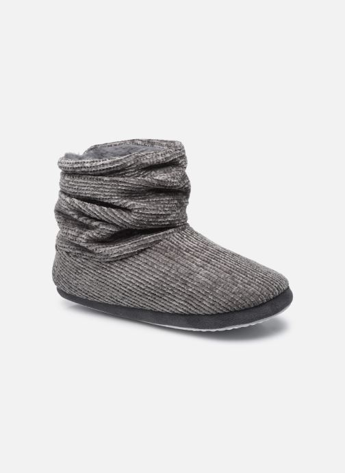 Pantuflas Mujer Chaussons montants velour femme