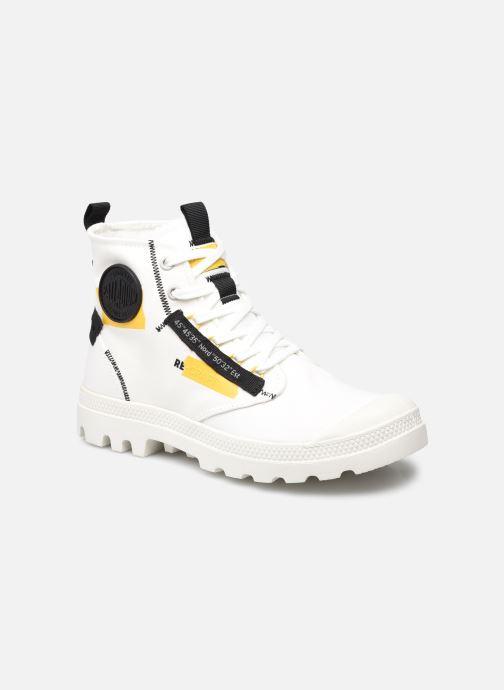 Sneaker Palladium PAMPA HI RE-CRAFT ECO weiß detaillierte ansicht/modell