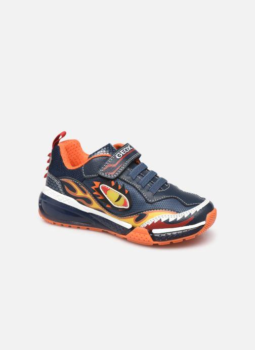 Sneakers Geox J Byonyc Boy J16FEB Blauw detail