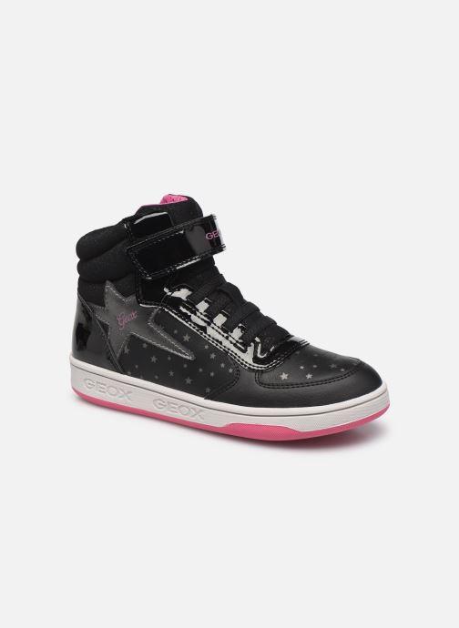 Baskets Geox J Maltin Girl J1600A Noir vue détail/paire