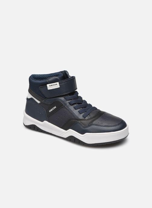Sneaker Geox J Perth Boy J167RA blau detaillierte ansicht/modell