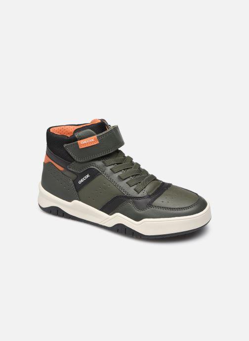 Sneaker Geox J Perth Boy J167RA grün detaillierte ansicht/modell