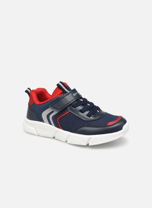 Sneakers Geox J Aril Boy J16DMA Blauw detail