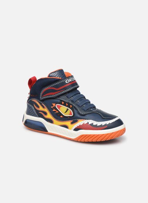 Baskets Geox J Inek Boy J169CA Bleu vue détail/paire