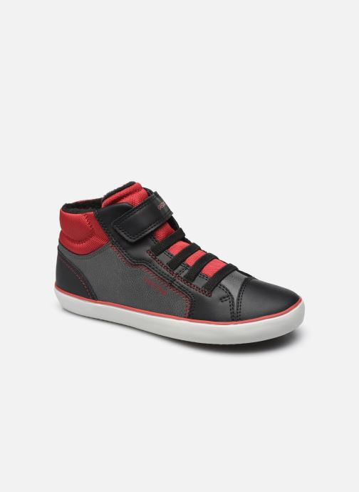 Sneaker Geox J Gisli Boy J165CA schwarz detaillierte ansicht/modell