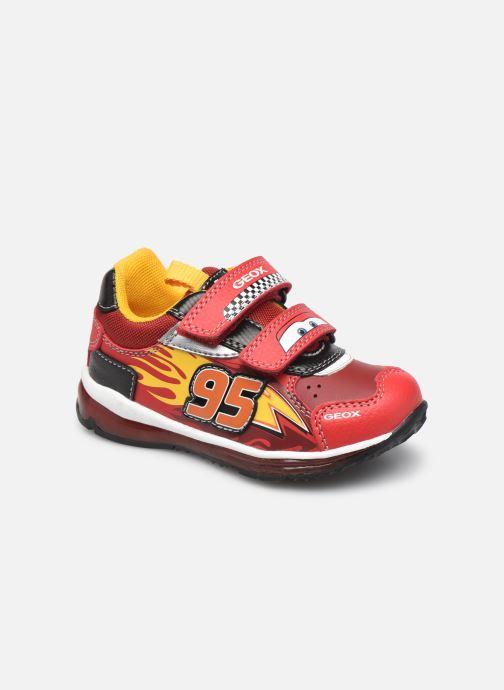 Sneakers Geox B Todo Boy B1684B Rood detail