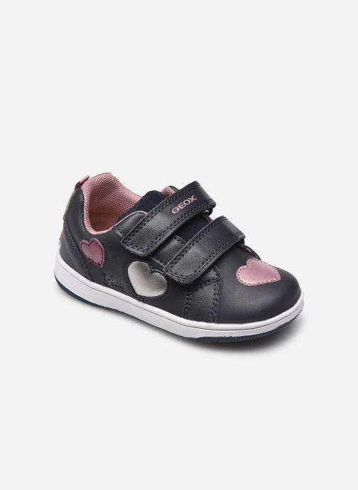 Sneakers Geox B New Flick Girl B161HB Azzurro vedi dettaglio/paio