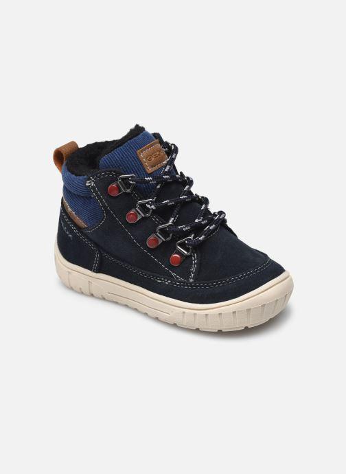 Chaussures de sport Geox B Omar Boy WPF B162DA Bleu vue détail/paire
