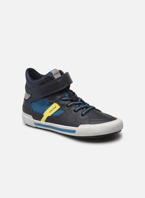 Sneaker Geox J Alonisso Boy J162CB blau detaillierte ansicht/modell