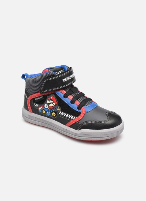 Sneakers Geox J Arzach Boy J044AB Nero vedi dettaglio/paio