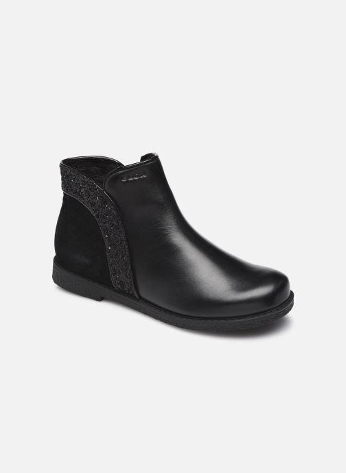 Bottines et boots Geox J Shawntel Girl J164EB Noir vue détail/paire