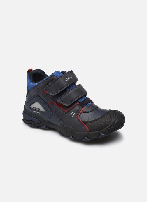Chaussures de sport Geox J Buller Boy B Abx J169WA Bleu vue détail/paire