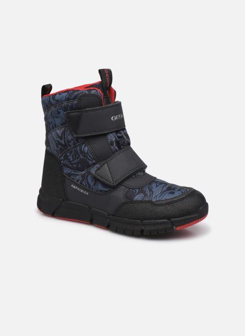 Chaussures de sport Geox J Flexyper Boy B ABX J169XC Orange vue détail/paire