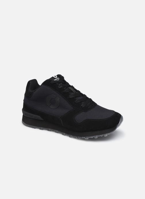 Sneaker Ecoalf Yalealf Mid Boot Sneakers Woman schwarz detaillierte ansicht/modell