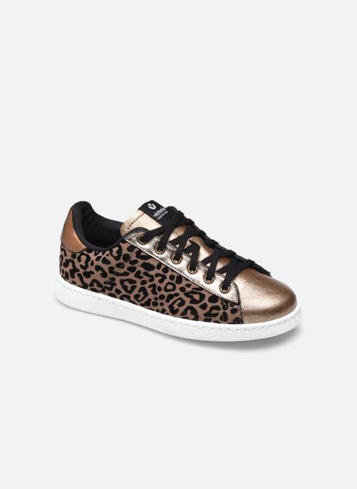 Sneaker Damen Tenis Leopardo/Metal W