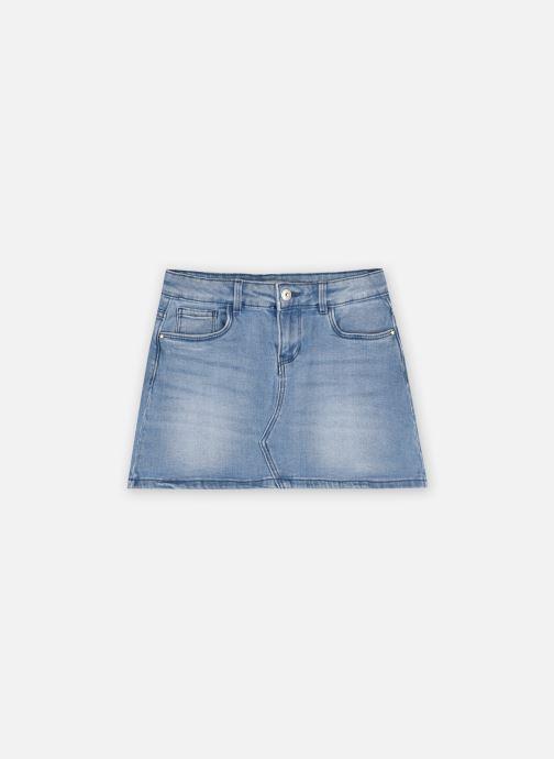 Vêtements Vertbaudet Jupe Denim New Bleu vue détail/paire