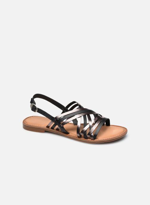 Sandales et nu-pieds Kickers ETRUSK Noir vue détail/paire