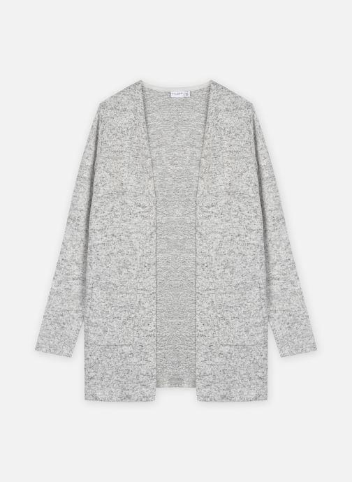Vêtements Name it Nkfvicti Ls Knit Card Noos Gris vue détail/paire