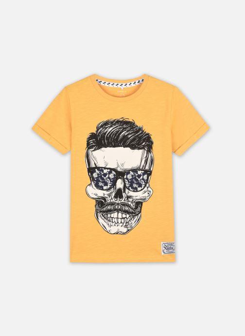 Vêtements Name it Nkmksoytan Ss Top Jaune vue détail/paire