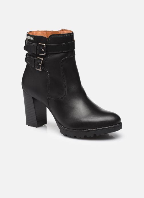 Boots en enkellaarsjes Pikolinos CONNELLY W7M Zwart detail