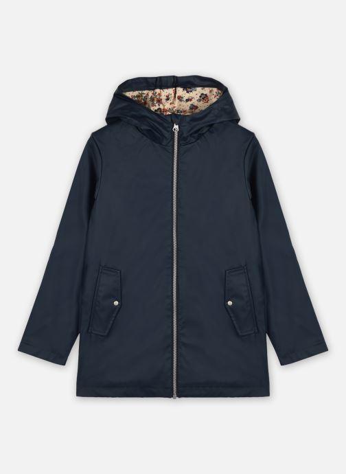 Vêtements Name it Nkfmaeva Rain Jacket Bleu vue détail/paire