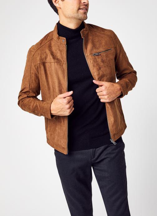 Vêtements Jack & Jones Jjerocky Jacket Noos Marron vue détail/paire