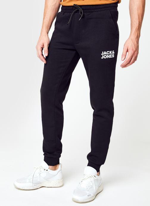 Vêtements Jack & Jones Jjigordon Jjnewsoft Sweat Pant Gms Noos Noir vue détail/paire