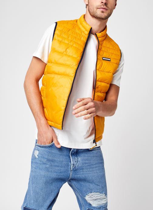 Vêtements Jack & Jones Jjeace Bodywarmer Collar Noos Orange vue détail/paire