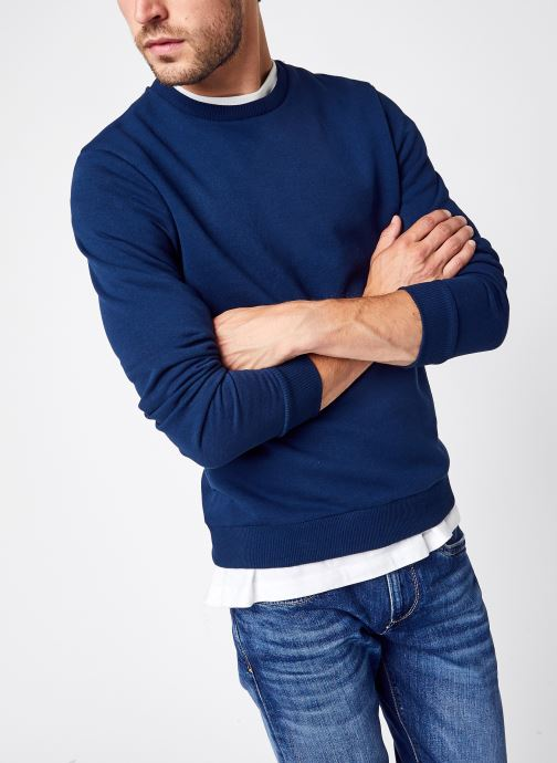 Kleding Only & Sons Onsceres Life Crew Neck Noos Blauw detail
