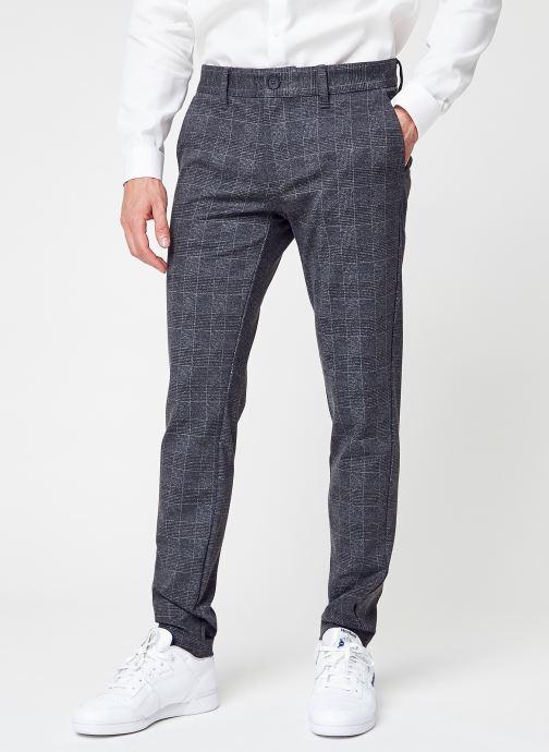 Vêtements Only & Sons Onsmark Check Pants Hy Gw 9887 Noos Noir vue détail/paire