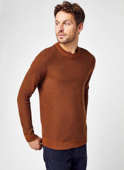 Abbigliamento Accessori Slhwes Ls Knit Crew Neck W Noos