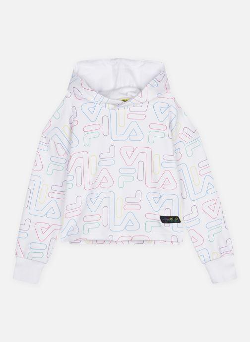 Vêtements FILA Teens Girls Salome Aop Cropped Blanc vue détail/paire