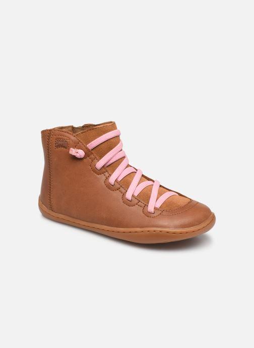 Bottines et boots Camper PEU CAMI 90085 Kids Marron vue détail/paire