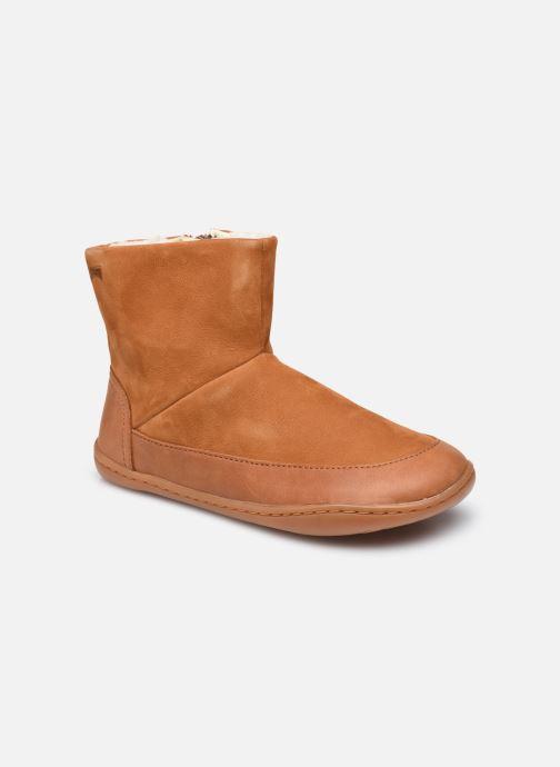 Boots en enkellaarsjes Camper PEU CAMI K900278 Kids Bruin detail