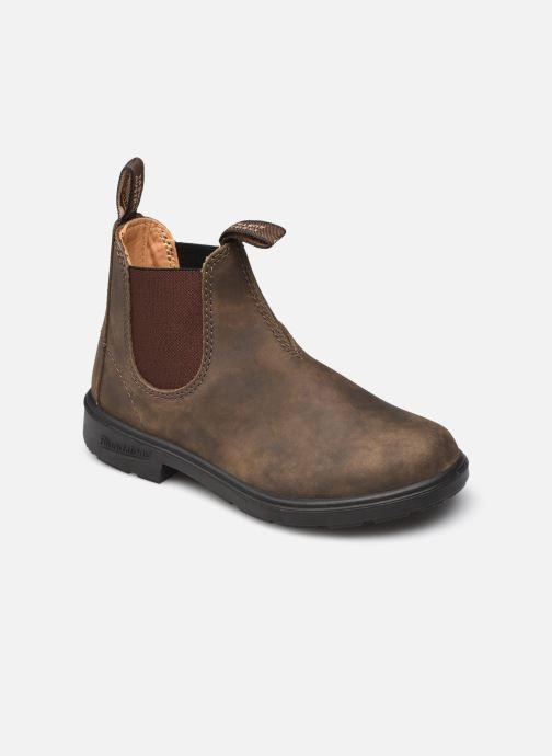 Stiefeletten & Boots Blundstone Kids Chelsea Boots 565 braun detaillierte ansicht/modell