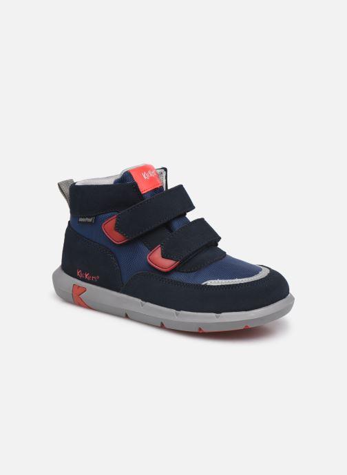 Sneaker Kickers Junibo blau detaillierte ansicht/modell