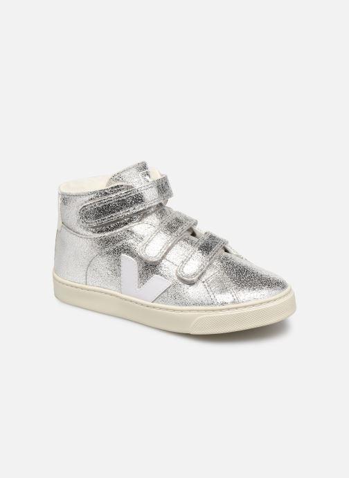 Sneaker Veja Small Esplar Mid Fur silber detaillierte ansicht/modell