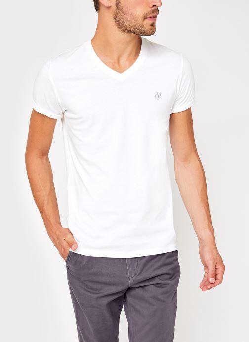 Kleding Accessoires T-Shirt Manches Courtes, Col V